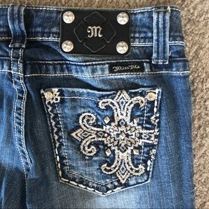 Miss Me Bootcut Jeans, 27, Embellished Pockets